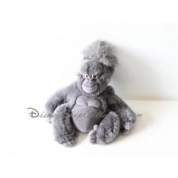 Peluche singe Tok DISNEY Tarzan singe gris noir 24 cm