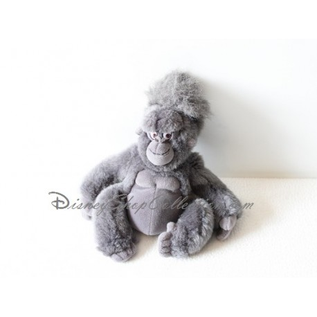 Plush Monkey Tok Disney Tarzan Grey Black Monkey 24 Cm Disneyshopc