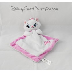 Doudou flat cat married DISNEY the Aristocats Pink White 27 cm NICOTOY