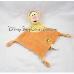 Doudou plat Tigrou SIMBA DICKIE Disney losange orange 39 cm