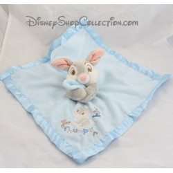 Doudou flat Pan Pan DISNEY STORE blue satin Thumper rabbit