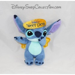 Peluche Stitch DISNEYLAND PARIS Sweet Devil ange doré Lilo et Stitch