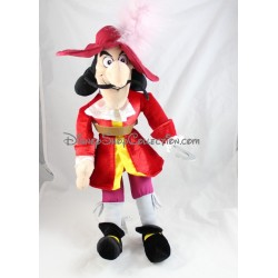 Peluche Capitaine Crochet DISNEY STORE Peter Pan méchant Disney 54 cm