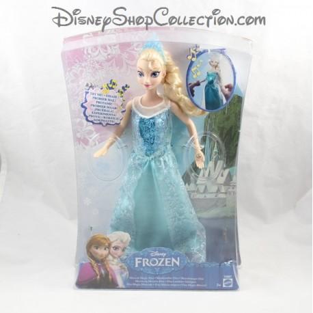 poupe barbie musicale elsa disney mattel la reine des neiges elsa lumires friques - Barbie Reine Des Neiges