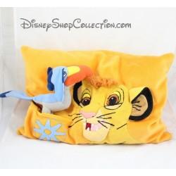 Cushion the DISNEYLAND PARIS Zazu relief and Simba Lion King