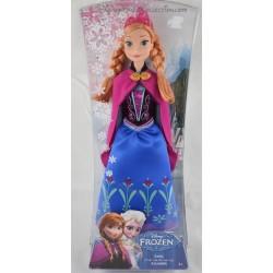 Poupée mannequin Anna DISNEY MATTEL La Reine des Neiges Barbie 30 cm