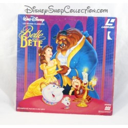 Laserdisc La Belle et la Bête WALT DISNEY Pictures Laser disc VF PAL 1993
