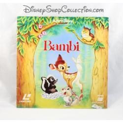 Laserdisc Bambi WALT DISNEY Pictures Laser disc VF PAL 1994