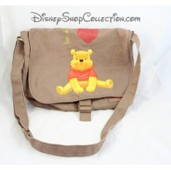 Sac bandoulière Winnie l'Ourson DISNEYLAND PARIS Winnie et ses amis Disney marron
