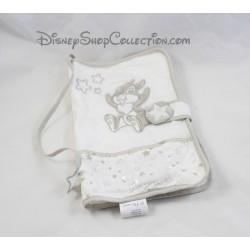 Protège carnet de santé Pan Pan DISNEY blanc beige tissu lapin Panpan