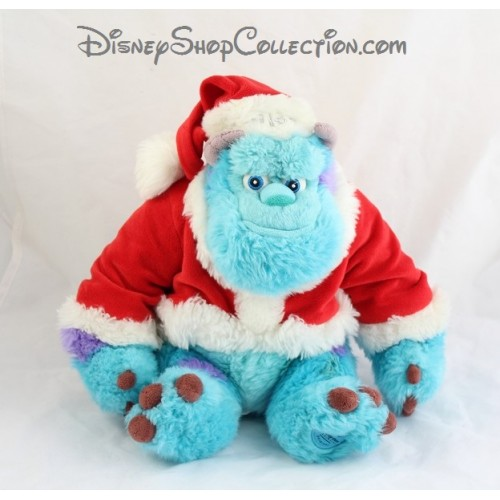 peluche sully disney store monstres et cie noel habit. Black Bedroom Furniture Sets. Home Design Ideas