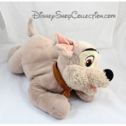 Peluche Chien Scamp DISNEY La Belle et le Clochard 37 cm