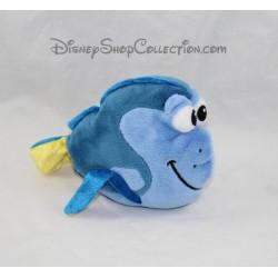 Peluche poisson Dory DISNEY STORE Le Monde de Dory bleu 19 cm
