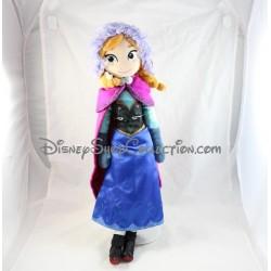Poupée peluche Anna DISNEYPARKS La Reine des Neiges Frozen Disney 52 cm