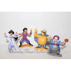 Figurine Aladdin and the King of thieves DISNEY set of 4 figures