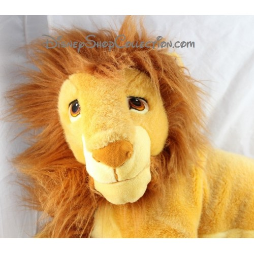 grosse peluche lion simba adulte disney mattel le roi lion 70 cm. Black Bedroom Furniture Sets. Home Design Ideas