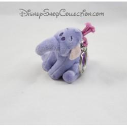 Porte clés peluche éléphant Lumpy DISNEY violet 8 cm