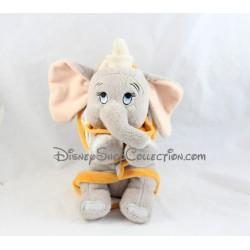 Peluche éléphant Dumbo DISNEY NICOTOY couverture grise 30 cm