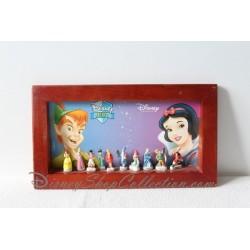 Coffret en bois fève DISNEY 10 fèves Disney héros et Disney princess