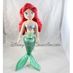 Poupée peluche Ariel DISNEY La petite sirène 50 cm