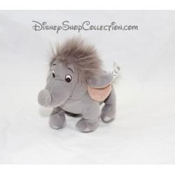 Peluche Junior éléphant DISNEY HASBRO Le livre de la jungle bébé éléphant gris 20 cm