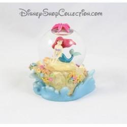 Snow globe sirène Ariel DISNEY La Petite Sirène vague boule à neige 10 cm