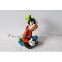 Figurine Dingo DISNEY assis pouet pouet en pvc ami de Mickey 14 cm