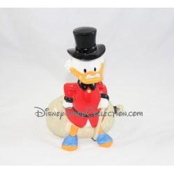 Tirelire canard Picsou TROPICO DIFFUSION Disney céramique 23 cm