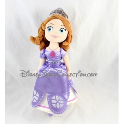 Plush Princess Sofia DISNEY STORE dress purple 33 cm