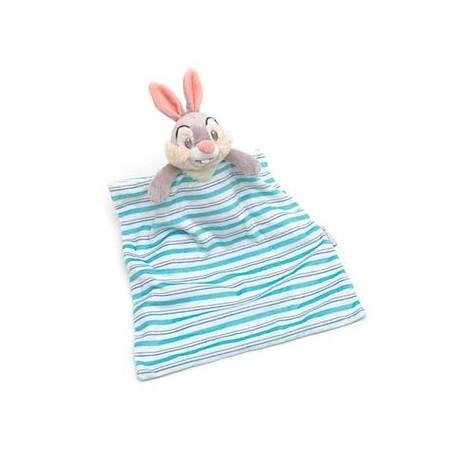 4487b9ac595f Doudou rabbit Pan Pan DISNEY STORE layette blue white striped cover...