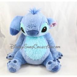 Peluche Stitch DISNEY Lilo et Stitch oreilles tombantes assis 33 cm