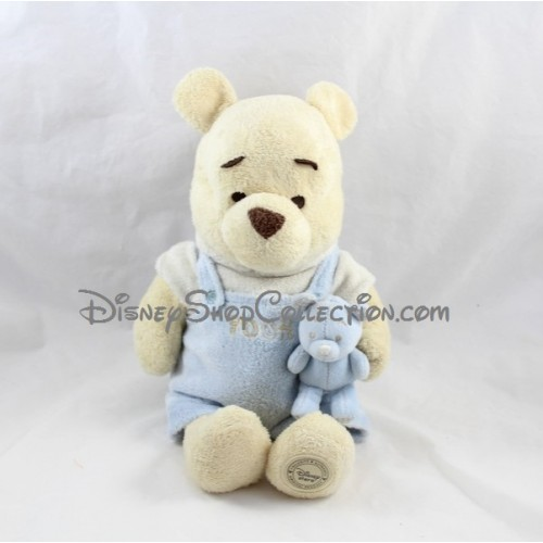 peluche winnie l 39 ourson disney store doudou ourson bleu 26 cm dis. Black Bedroom Furniture Sets. Home Design Ideas