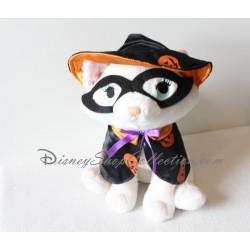 Peluche chat Marie DISNEYLAND halloween Les Aristochats sorcière masquée Disney 27 cm