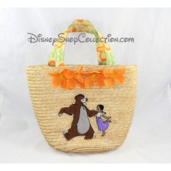 Beach bag from the DISNEY STORE bag Tote jungle book straw