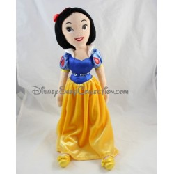 Doll plush white snow DISNEYLAND PARIS dress blue yellow 50 cm