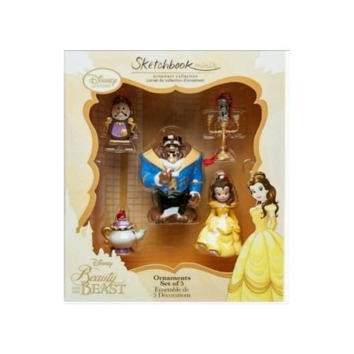 Schöne Und Das Biest Disney Store Dekoration Von Noah Sketchbook Minis