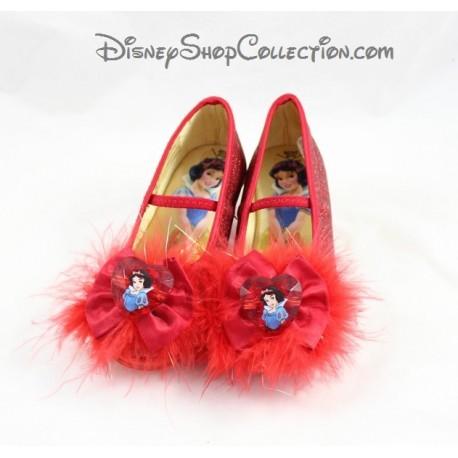 Chaussures de déguisement Blanche-neige DISNEYLAND PARIS enfant rouge 24/26