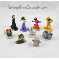 Figurines Esmeralda DISNEY Le Bossu de Notre Dame lot de 9