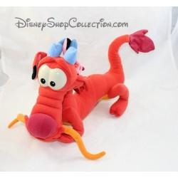 Peluche dragon Mushu DISNEY MATTEL Mulan rouge 34 cm