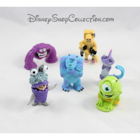 figurines monstres et compagnie disney pixar lot de 6. Black Bedroom Furniture Sets. Home Design Ideas
