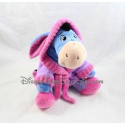 Peluche Bourriquet DISNEY NICOTOY peignoir robe de chambre violet rose 23 cm