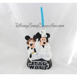 Tirelire Mickey Minnie DISNEY Star Wars blanc noir plastique 30 cm