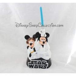 Tirelire Mickey Minnie DISNEY Star Wars blanc noir plastique 30 cm
