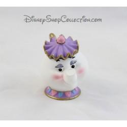 Figurine Mrs Samovar BULLY La Belle et la Bête théière Disney Bullyland 6 cm