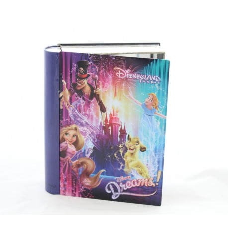 Boite En Fer Disneyland Paris Disney Dreams Effet Livre Disneyshop Collection
