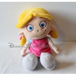 Peluche Annie DISNEY STORE Les petits Einstein petite fille blonde 33 cm