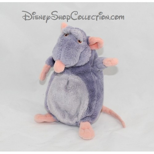 peluche django rat disney ratatouille bleu 20 cm disneyshopcollec. Black Bedroom Furniture Sets. Home Design Ideas