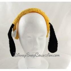 Serre-tête oreilles de Pluto DISNEYLAND PARIS Mickey Mouse orange 14 cm