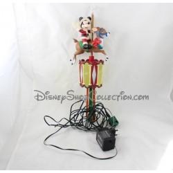Automate musical en peluche Winnie l'ourson Disney traîneau de Noël