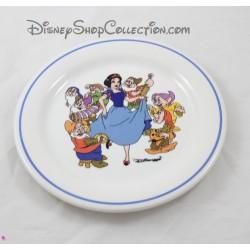 Assiette Blanche Neige DISNEY Ceramica Quadrifoglio Made in Italy